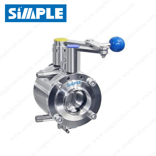 Mixproof Butterfly Valve B