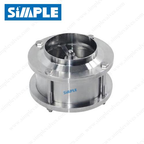 inline sanitary check valve