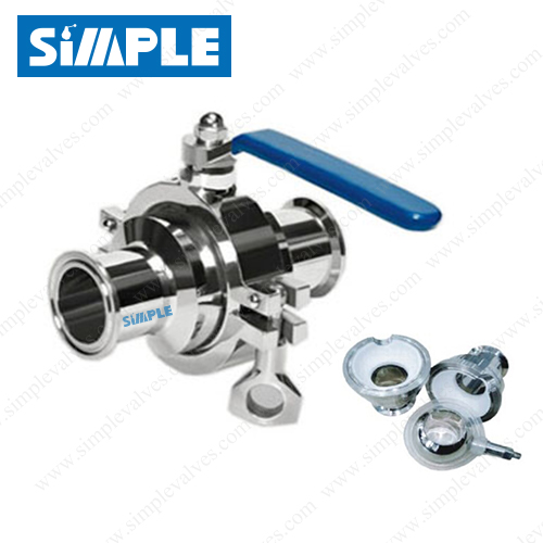 tri clover ball valve