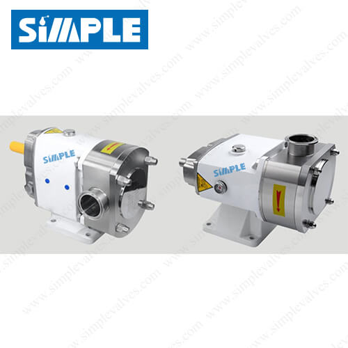 Sanitary Positive Displacement Pump, Lobe Pump